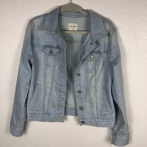 Light Wash Denim Jacket